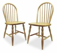 Winsome Windsor Natural Solid Wood Chair Brand New (QTY 1)