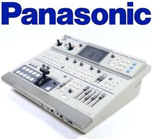 USED PANASONIC DIGITAL AV MIXER Digital Audio/Video Mixer, 4 Inputs, Y/C, Composite, 287 Wipe Patterns, NTSC 106805314