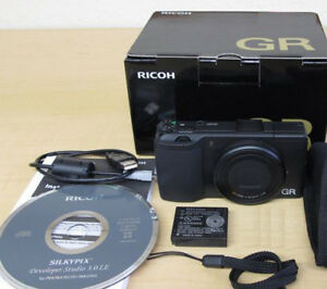 pentax Ricoh GR 16.2MP Digital Camera with box RICOH