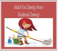 MAID 4 YOU HOUSE KEEPING CLEANING SERVICE < PVT RESIDENTAL>