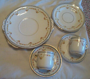 Vintage REGENT China (2 person setting) place settings