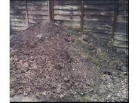 Free to collector - garden soil