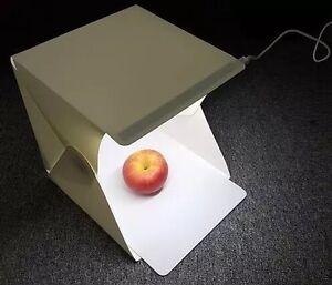 Portable mini lightbox studio LED light photography pro
