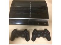 PS3 40gb With 2 Controllers