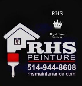 PAINTER ******  ROYAL  HOME  SERVICES  ****** PEINTRE