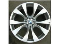 Bmw x5 20 inch alloy with 7 inch Dunlop Run flat trye