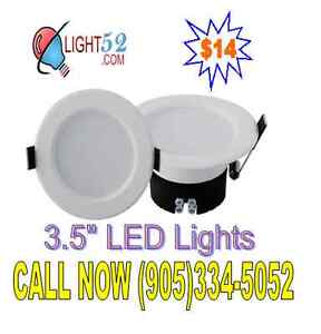 "3.5"" LED Recessed Lights downlights"