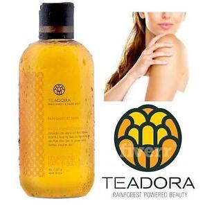 NEW TEADORA BATH  BODY OIL Teadora Nourishing Bath and Body Oil - Rainforest At Dawn, 8 Fluid Ounce 103445594