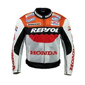 Honda Repsol Leather racing jacket NEW
