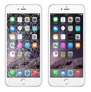 iphone 6 cracked screen & battery replacement Southern River Gosnells Area Preview