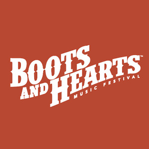 Boots and Hearts 2017 Tent camping site