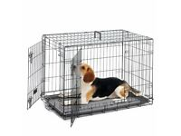 For sale large dog cage goid condition