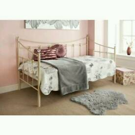 Ivory single daybed