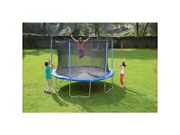 Brand new 12ft trampoline with enclosure