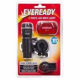 Eveready LED Bike Light 2pc: Brand new in Sealed pack