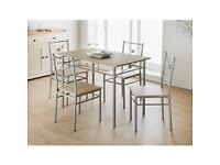 table & chairs for sale like new ,buyer uplifts - £ 50.00