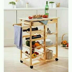 Kitchen Trolley wine rack ( NEW ) - Free delivery