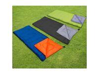Brand new sleeping bag outdoor adventure