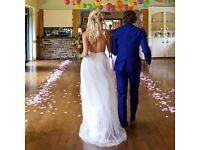 Wedding petals- isle runner, confetti, table centres