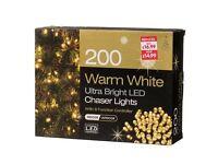 200 LED WHITE Chaser Lights