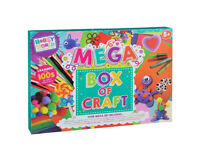 Hobby World Mega Box of Craft with 100s of craft essentials NEW