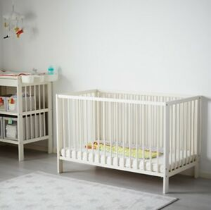 IKEA baby crib and changing table for sale