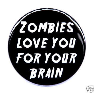 "LOVE SUCKS Button Pin Badge 1.5/"" Horror"