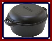 Cast Iron Dutch Oven Cover