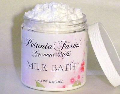 SCENTED FOAMING COCONUT MILK BATH *Citrus Cilantro MILK BATH  LG 8 oz MILK BATH ()
