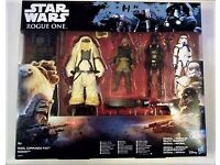 Star Wars Rogue One Action Figure 4 Pack Including Rebel Commando Pao Moroff