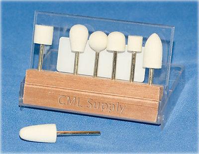 Mini Felt Bob Polishing Kit for Dremel or Rotary Tools