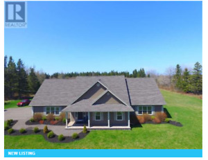 Stunning home in rural Prince Edward Island!!