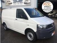 2012 62 VOLKSWAGEN TRANSPORTER 2.0 T32 TDI 6 SPEED 140 BHP WITH RARE TAIL GATE