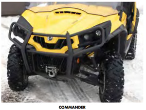Quadrax Elite Front Bumper - Can Am Commander