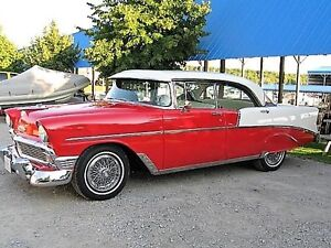 "RARE BEAUTY-1956 CHEVROLET ""Two Ten"" 4 Door SPORT SEDAN"