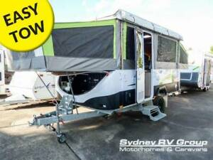 CU1324 Jayco Swan Outback 2017, Rugged OFF Road Ability