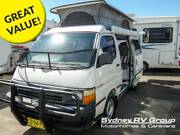 U3923 Toyota Hiace Frontline Automatic Compact Pop-Top Campervan Penrith Penrith Area Preview