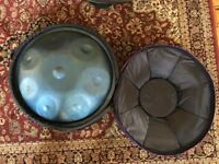 2 X HANDPANS BUNDLE DEAL - F# MINOR AND D MAJOR SCALES