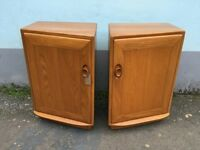 Pair of Contemporary Ercol Windsor Bedside Cabinets.Vintage/Retro/Mid Century