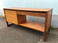 1970s Teak framed Record Cabinet/Media Unit. Vintage/Retro/Mid Century