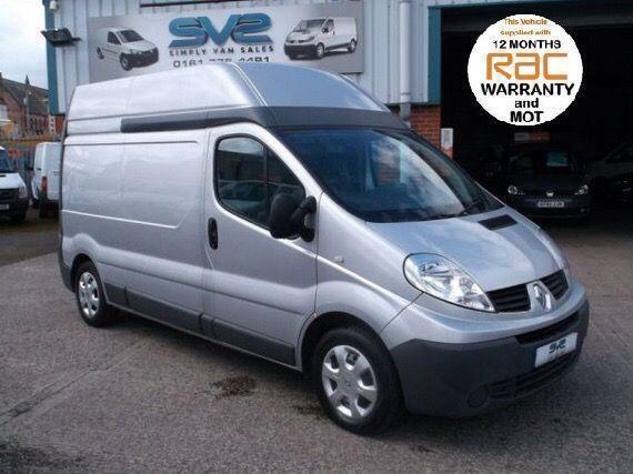 2011 11 RENAULT TRAFIC LWB HIGH ROOF 115BHP IDEAL CAMPER OR DAY VAN WITH AIR CON