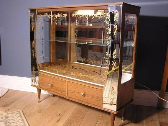Denmore Vintage Display Cabinet