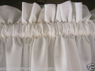 Curtains Ideas 36 inch cafe curtains : 100% Cotton White Muslin 36 Inch Cafe Curtains