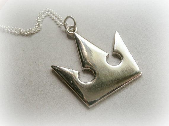 Kingdom Hearts Silver Charm Necklace Sora Japan Square Enix