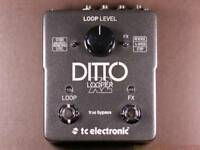 TC Ditto X 2 looper pedal