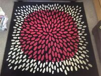 Bargain rug, excellent size and condition!