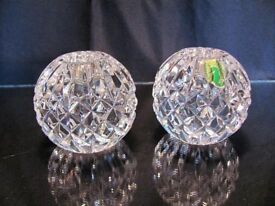 Waterford Crystal Candle Holders (pair)