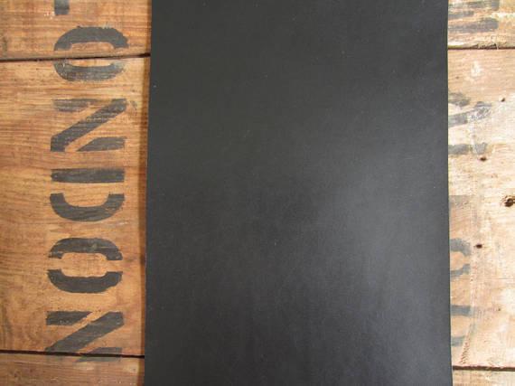nero cuoio pieno fiore Vacchetta PEZZI 2-2,4 mm spesso vario formato