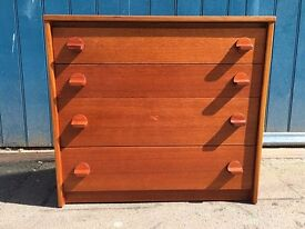 1970's Teak Chest of Drawers by Stag. Vintahe/Retro/Mid Century