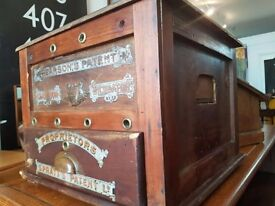 Early 20th Century Antique Egg Incubator Box/Cabinet. Display/Retail/Kitchen